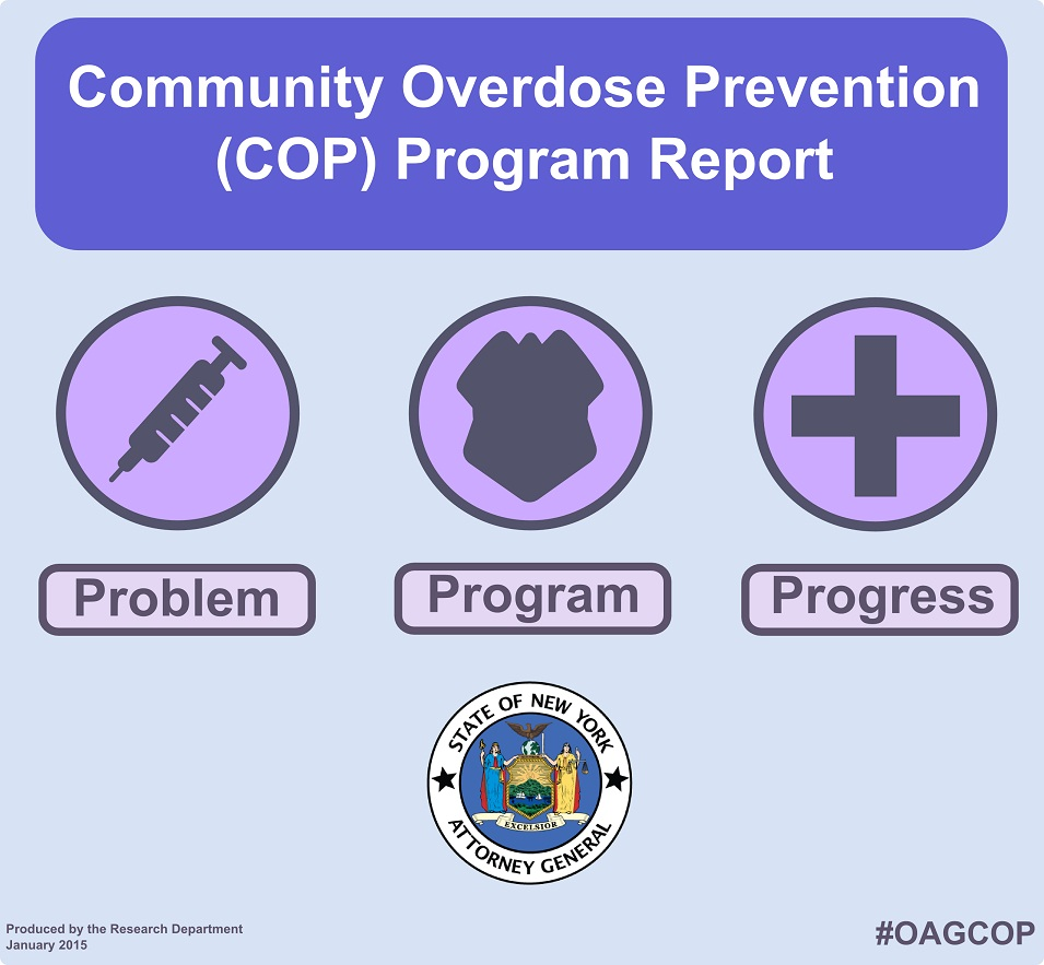 New York State Community Overdose Prevention (COP) Program Report