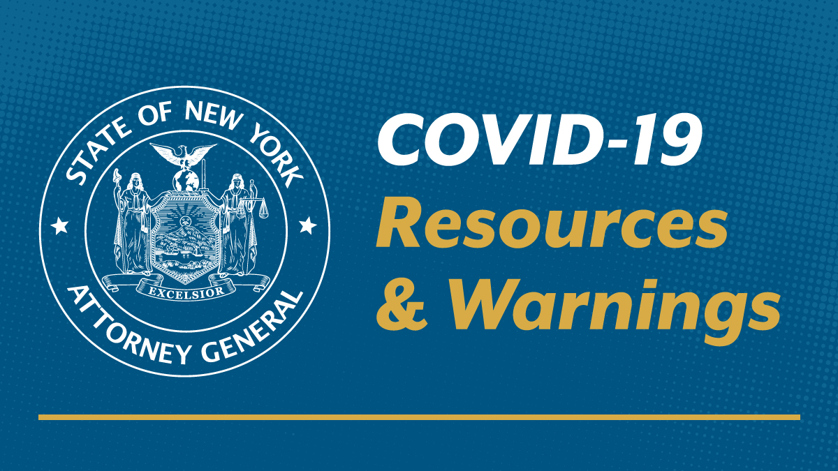 Guidance on Coronavirus Resources and Warnings about Consumer ...