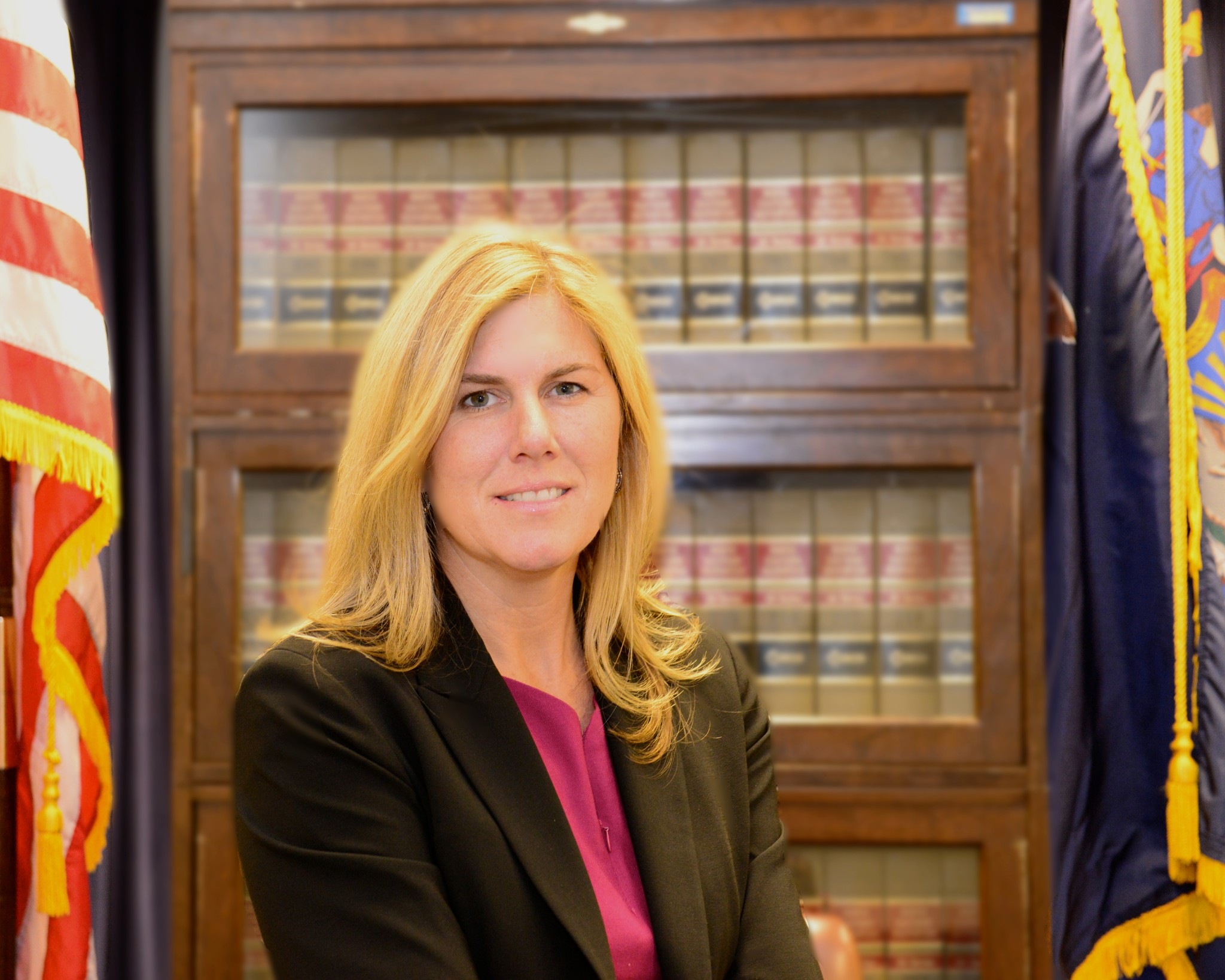 Executive Deputy Attorney General for Criminal Justice Kelly Donovan