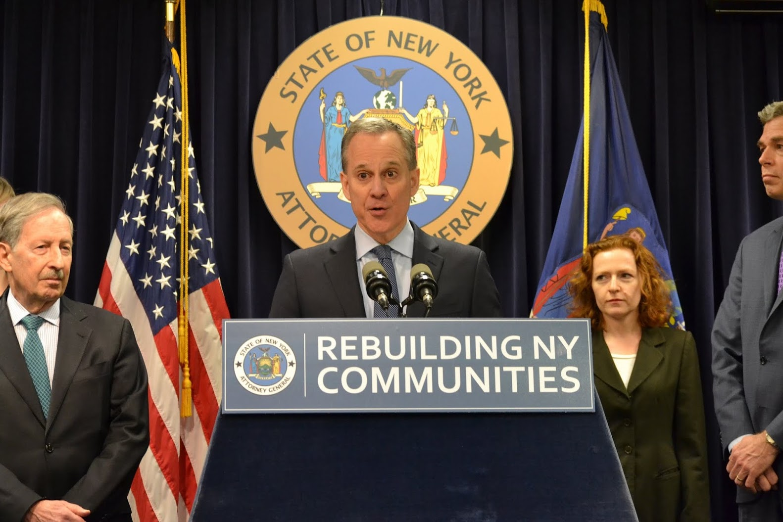 A G Schneiderman Led State Amp Federal Working Group