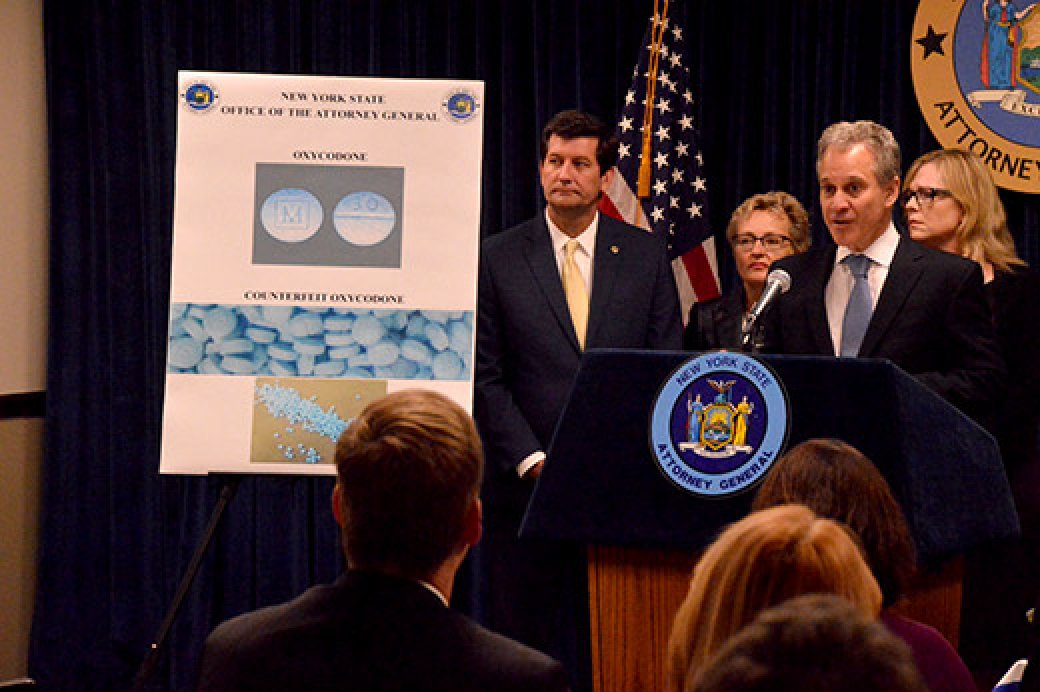 A.G. Schneiderman Issues Urgent Public Health Warning About Deadly Fentanyl Pills Seized During Ongoing Opioid Investigation In Western New York