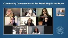 Thumbnail for Community Conversation on Sex Trafficking in the Bronx